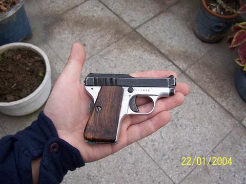 My Beretta 418. Rahul.