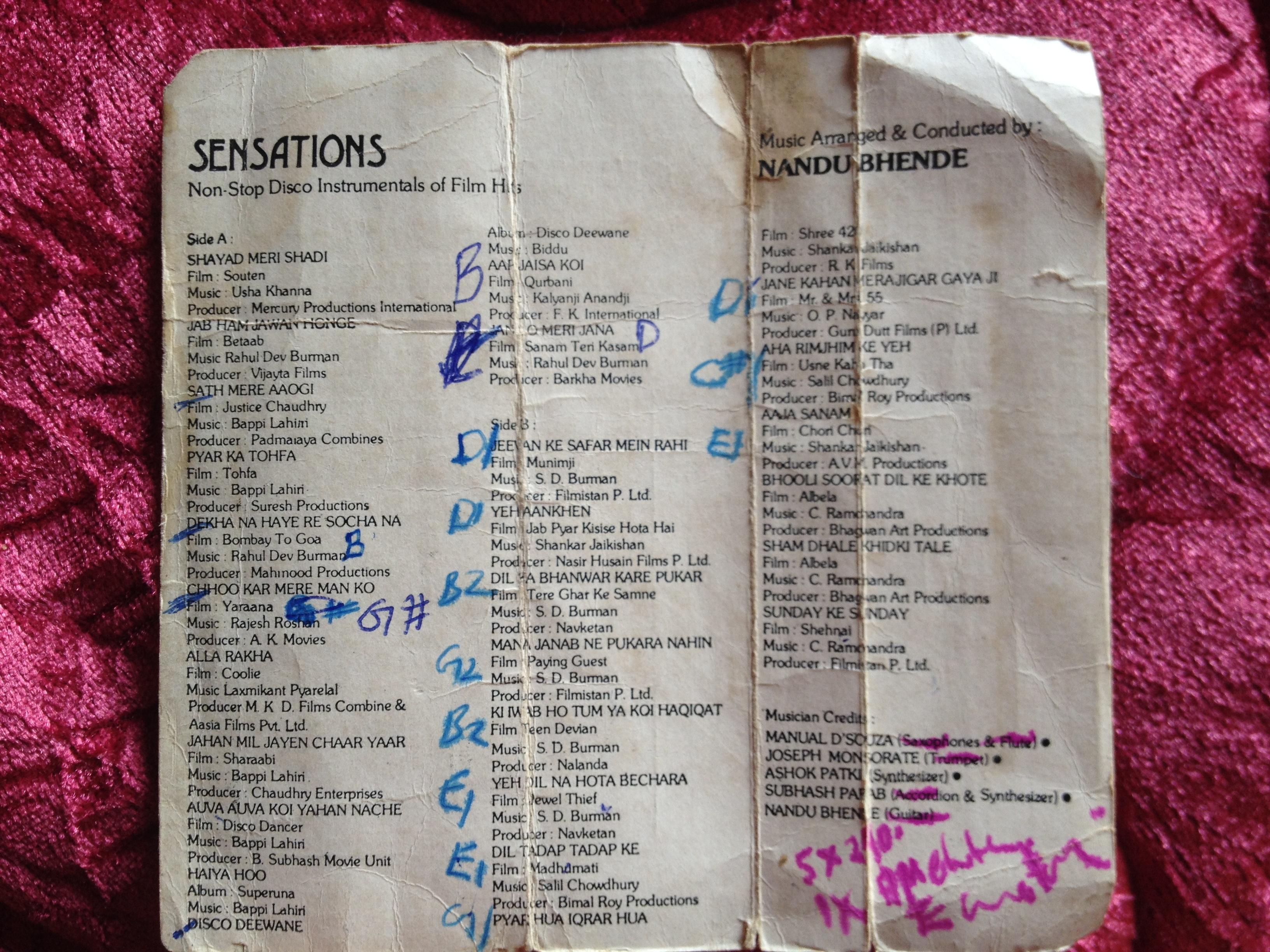 Young Rebel Set Unforgiven Chords Nandu Bhende Sensations Chords